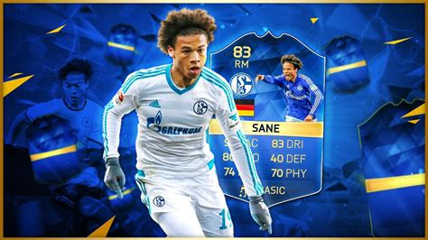 FIFA 16 - Leroy Sane - TOTS Review - YouTube