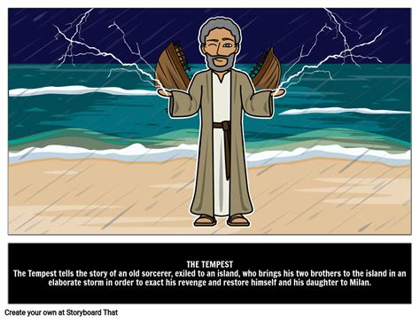 The Tempest Summary & Characters | William Shakespeare Plays