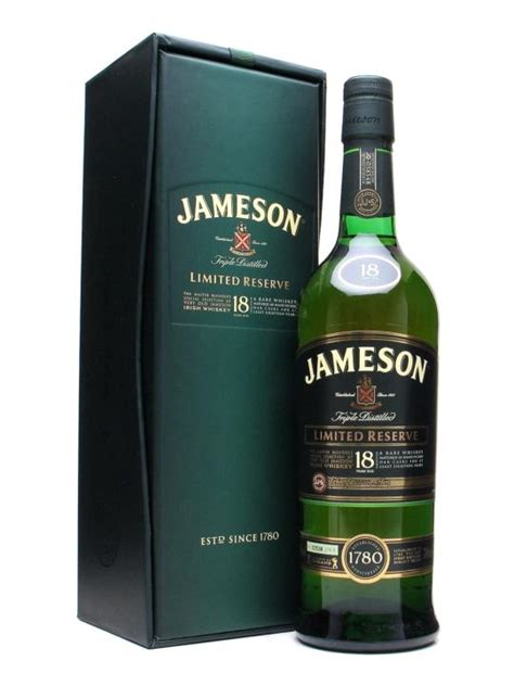 Jameson 18 Year Old : The Whisky Exchange