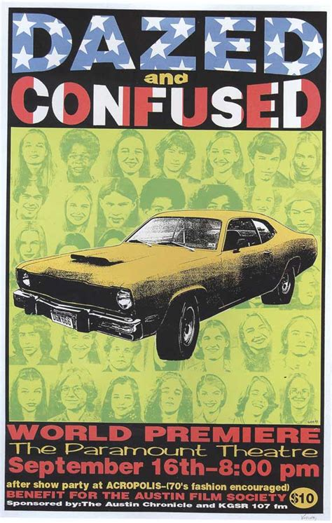 Dazed and Confused Movie Posters From Movie Poster Shop