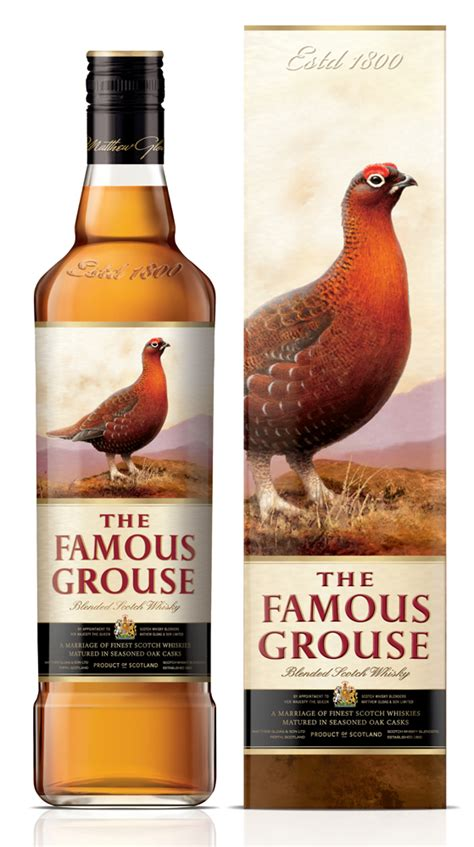 The Famous Grouse Struts New Luxury Packaging by Lewis