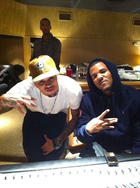 Game & Chris Brown Go 'Stupid' in the Studio | Rap-Up