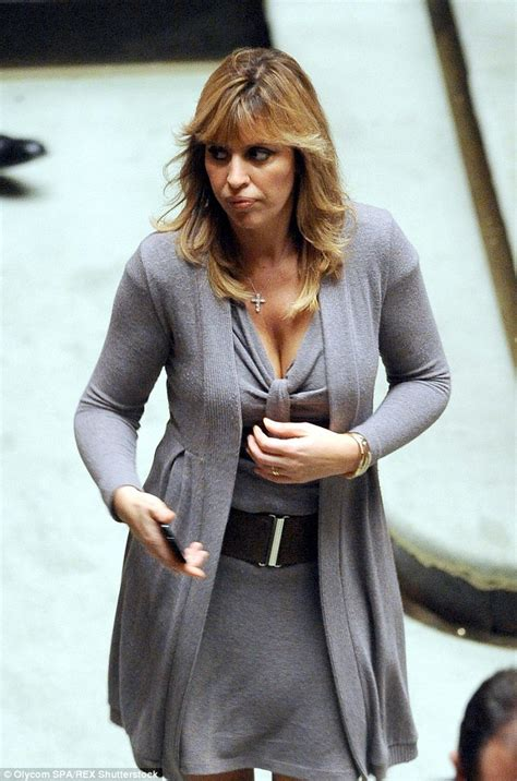 Alessandra Mussolini's life as a Playboy Model and