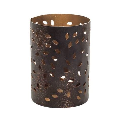 WoodWick - Glowing Leaf - Petite Candle Holder - Yankee