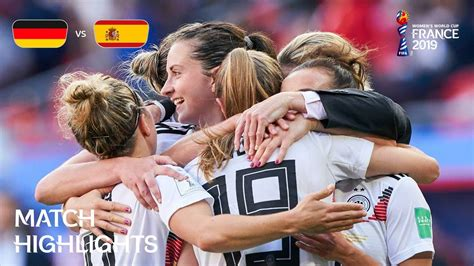 Germany v Spain - FIFA Women's World Cup France 2019