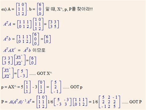 Maybe :: [Linear Algebra] Projection onto a line and a