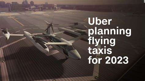 Uber planning flying taxis for 2023 - Video - Technology