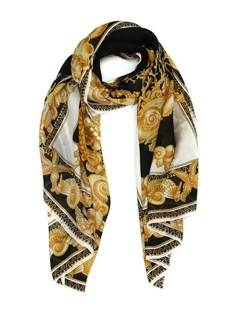 Versace - Oceanic Barocco scarf - scarves - IST7002