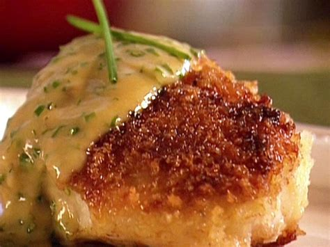 Seared Cod with Chive Butter Sauce Recipe   Aaron McCargo