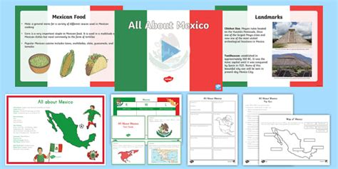 All About Mexico Resource Pack - Mexico, All About Mexico