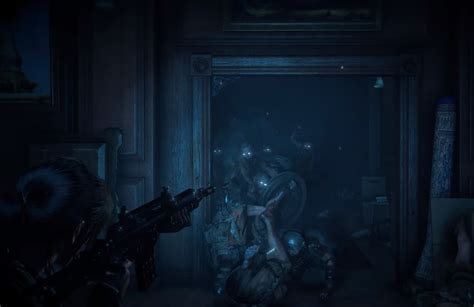 Zombies and ghouls in Rise of the Tomb Raider DLC 'Blood