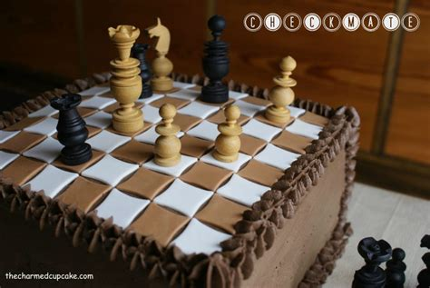 Super Cool Chess Themed Cake Designs-Chess Cake ideas